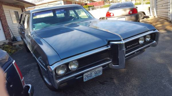 '68 Catalina wagon front