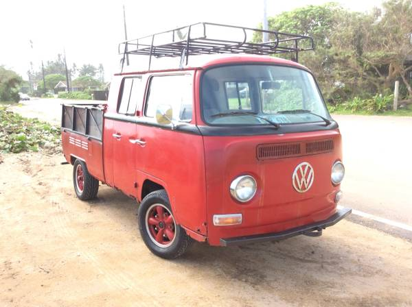 '69 VW double front right