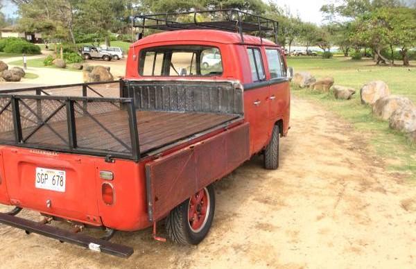 '69 VW double rear