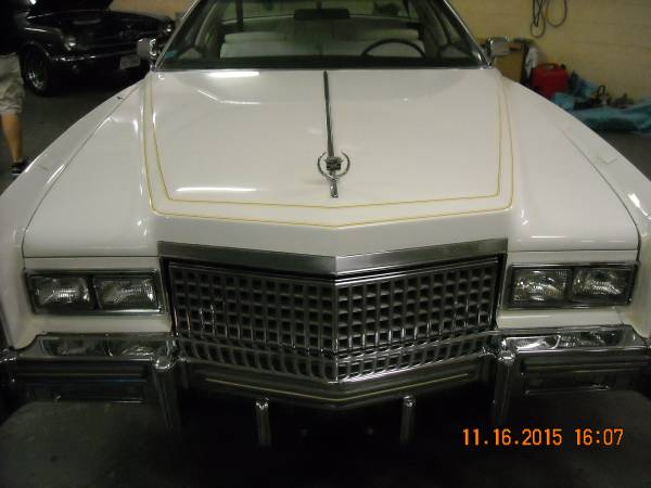 '75 Cadi front