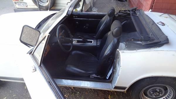 '75 Jensen Healey door open