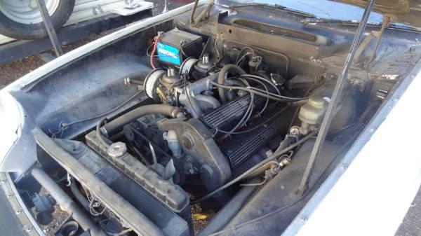 '75 Jensen Healey engine