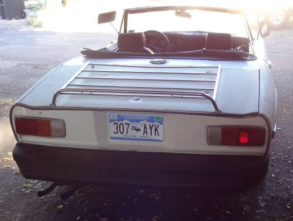 '75 Jensen Healey rear