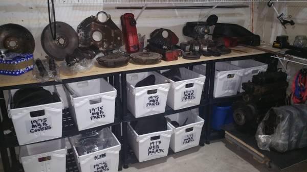 '75 MGB parts