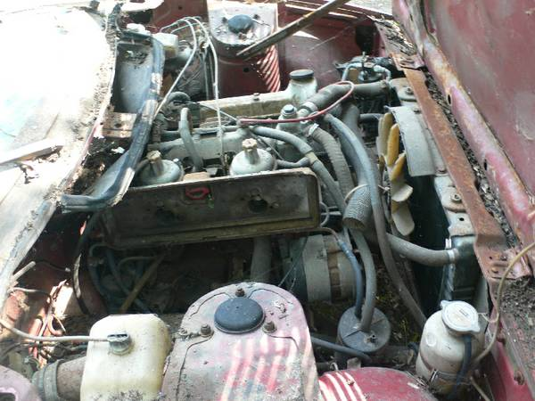 '76 TR7 engine