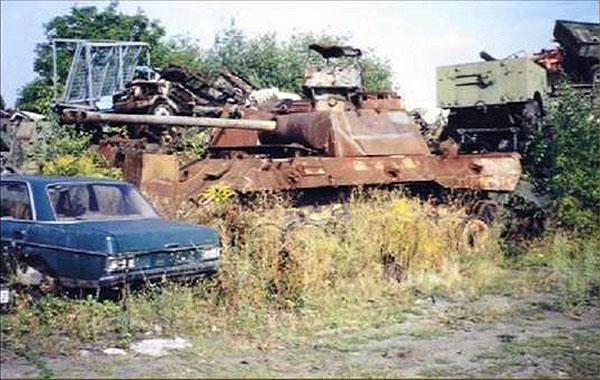 Backyard Tank