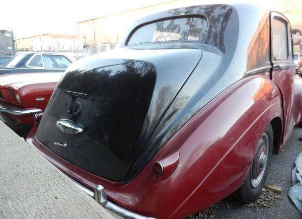 Bentley rear