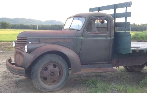 Chev Truck side front