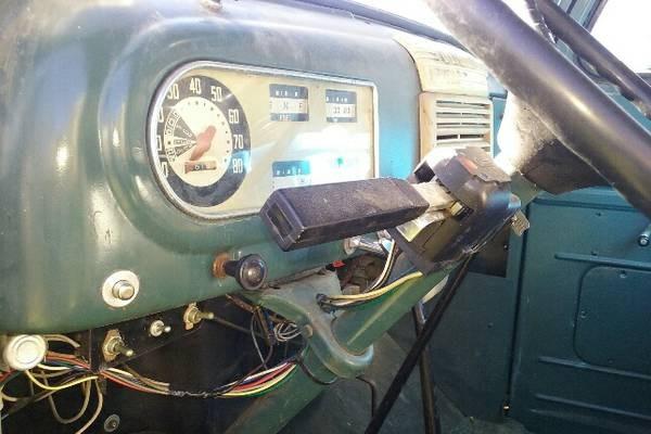 Ford F5 interior
