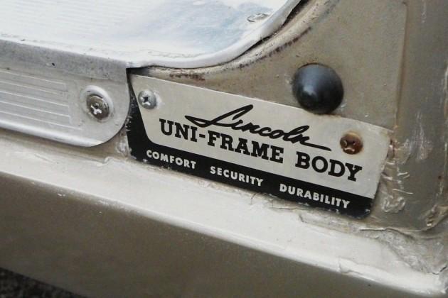 Lincoln body plate s-l1600