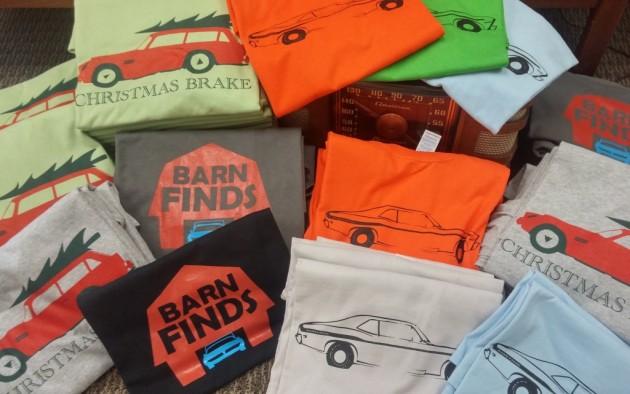 Lots Of T-Shirts