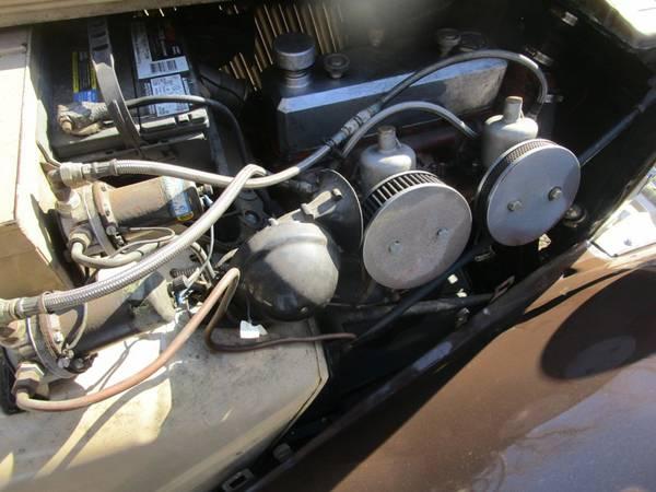 MG TD Engine