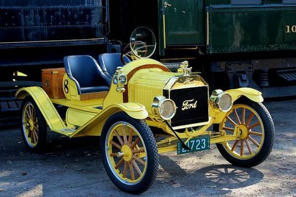 Model T 1914 front