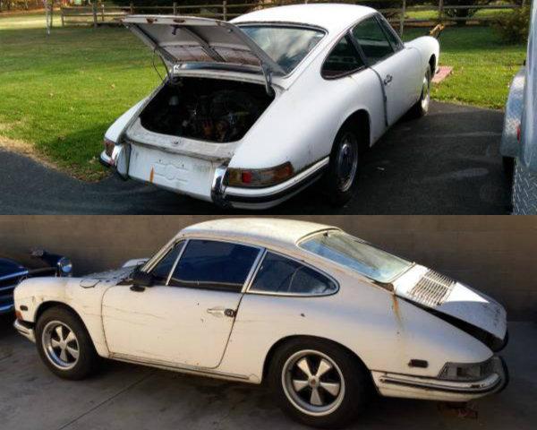 Porsche 912 Comparo