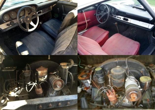 Porsche Interiors and Engines