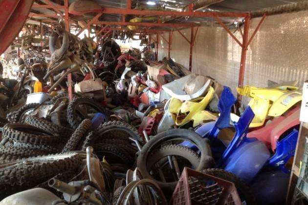 Salvage Yard tires