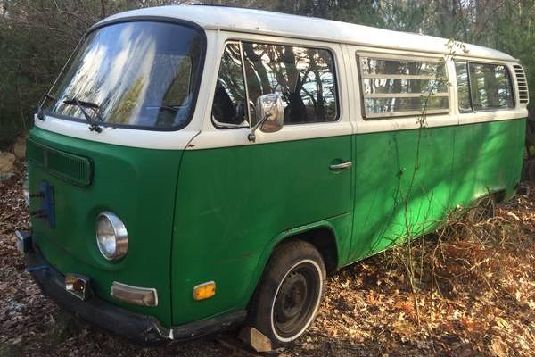 VW Van front 3