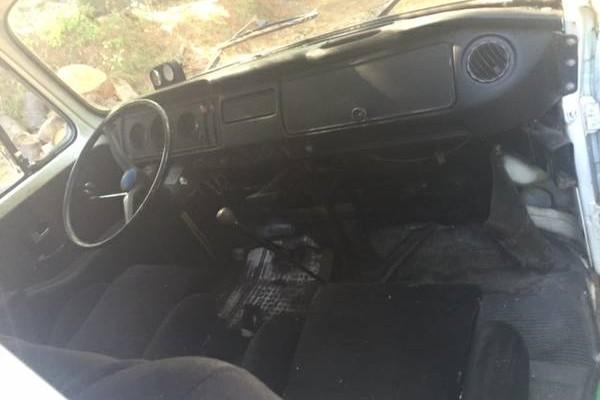 VW van front seats