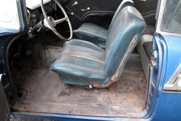 1955 Chevrolet Bel Air Interior