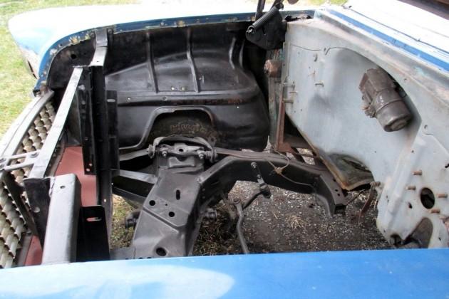 1955 Chevrolet Engine Bay