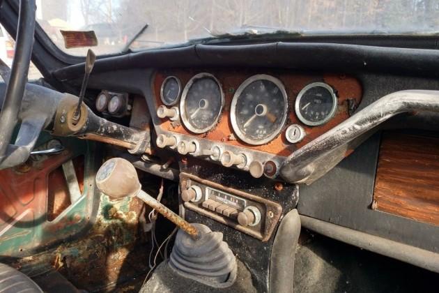 1966 Triumph Spitfire Interior