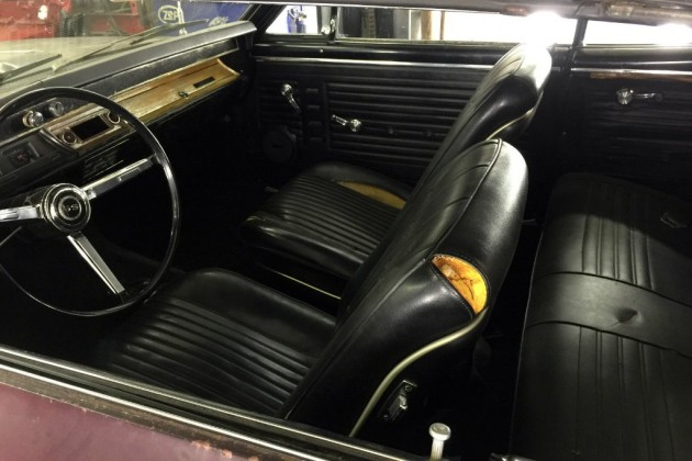 1967 Chevelle SS396 Interior
