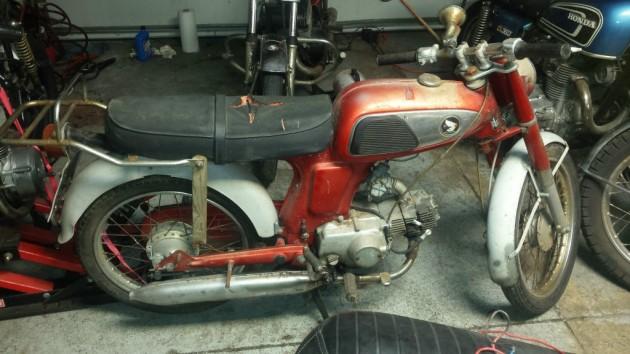 1967 Honda SS50 Moped