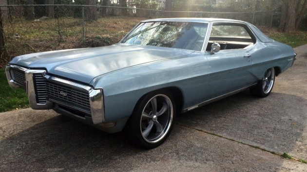 1968 Pontiac Grand Prix Cleaned up