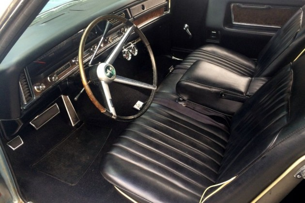 1968 Pontiac Grand Prix Interior