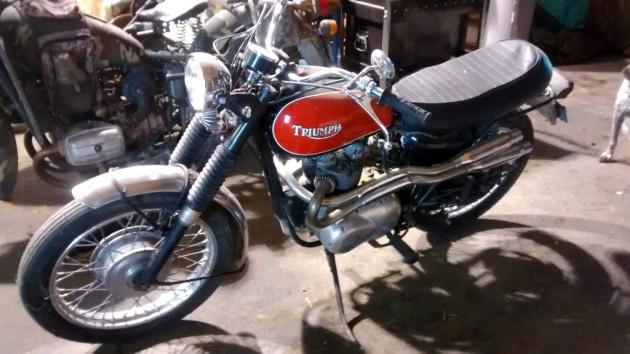 1969 Triumph T100