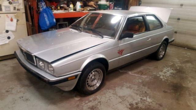 Cheap Italian: 1986 Maserati Biturbo - Barn Finds