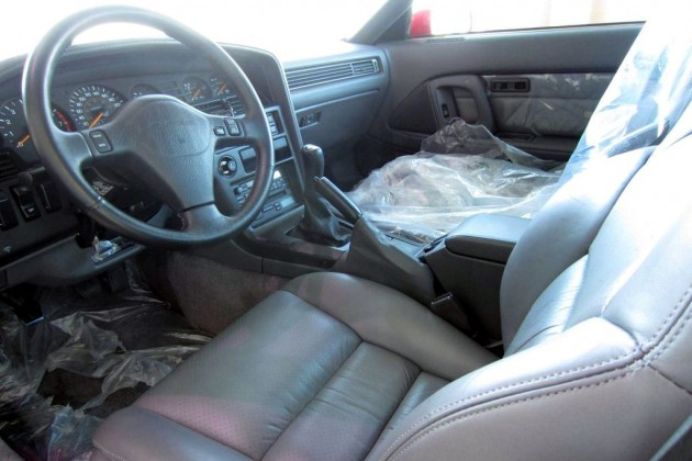 1990 Toyota Supra Turbo Interior