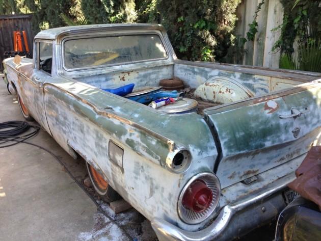 '59 Ranchero rear left