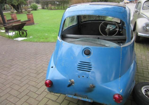 '61 Isetta rear