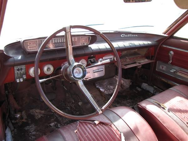'62 Cutlass dash