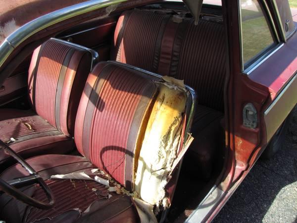 '62 Cutlass seats
