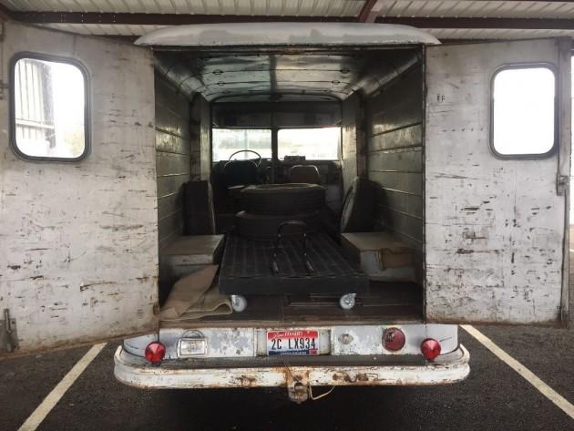 '63 Step Van rear open