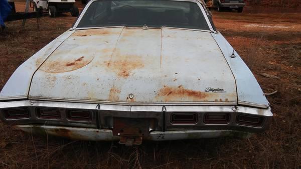 Chev 427 rear