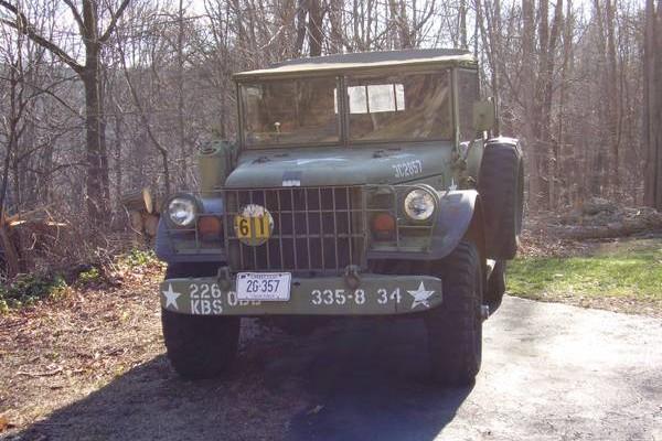 Dodge M37 front