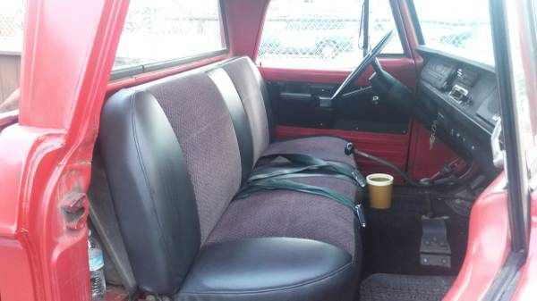Power Wagon interior
