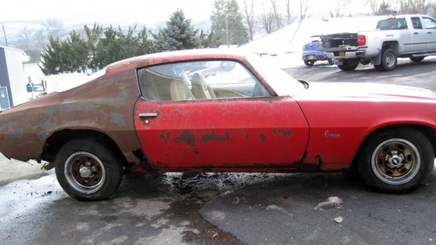 Rusty 1971 Camaro