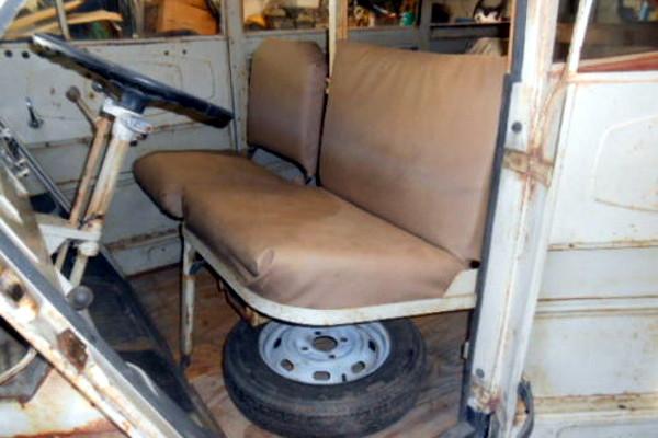 1957 DKW 3=6 Van Interior