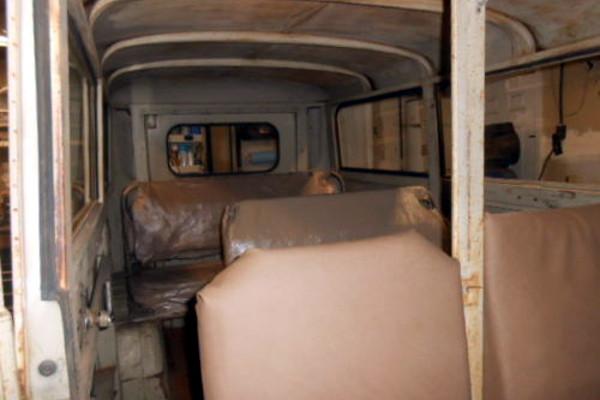 1957 DKW Schnellaster 3=6 Interior
