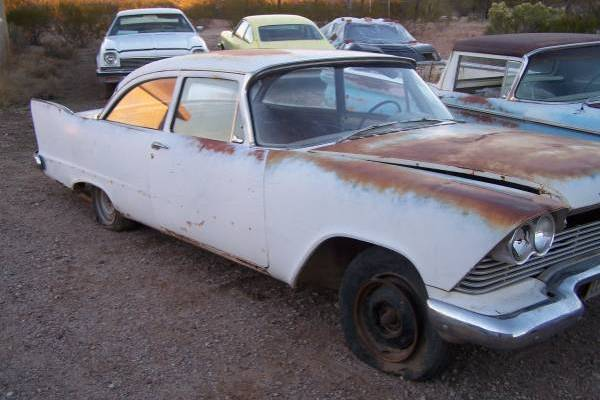 1958 Plymouth Plaza Business Coupe