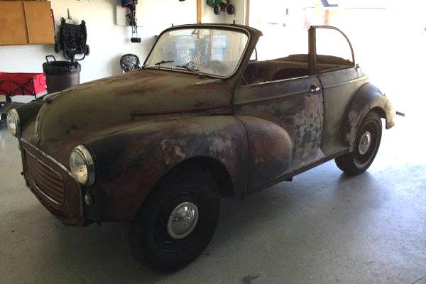 1959 Morris Minor Convertible
