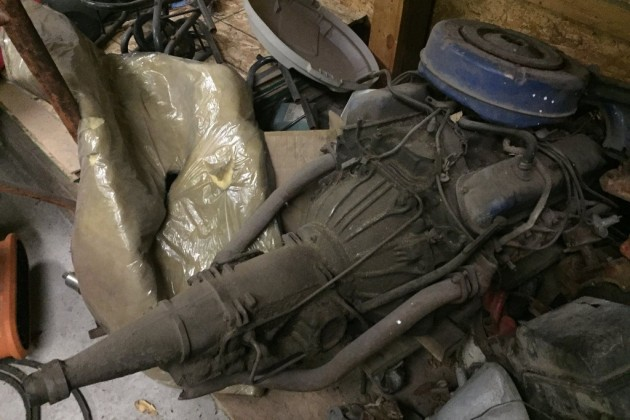 1965 Barracuda Formula S Engine
