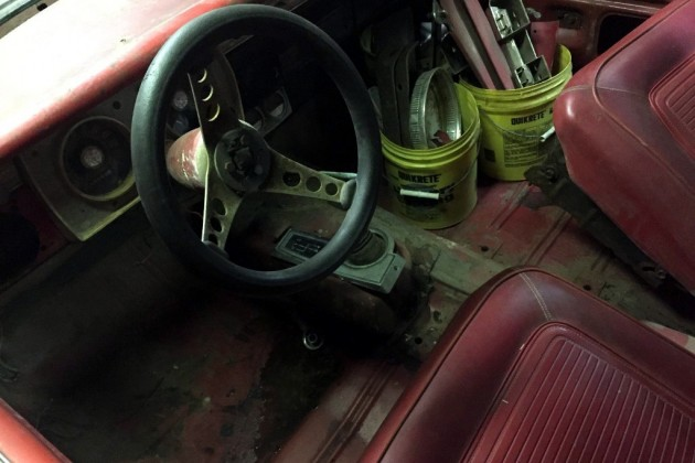 1965 Barracuda Formula S Interior