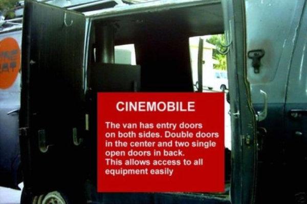 1966 Cinemobile Doors