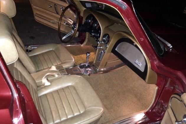 1966 Corvette Interior