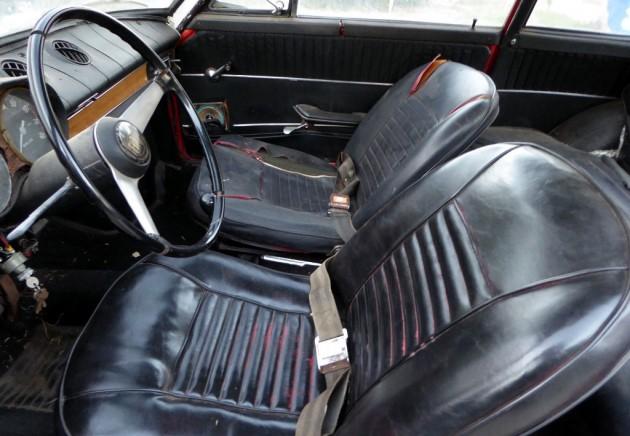 1968 Fiat 850 Coupe Interior